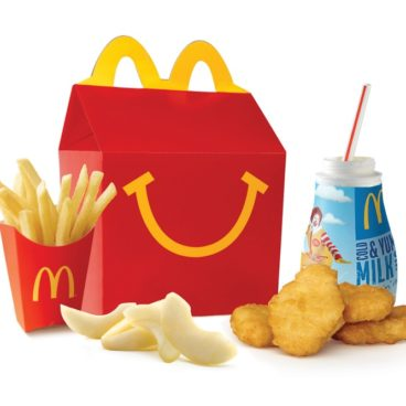 Chicken McNugget Happy Meal
