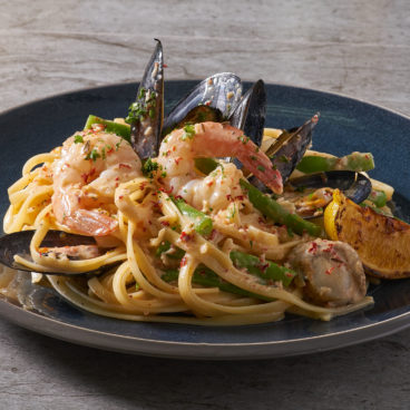 Spicy Seafood Medley Pasta 2